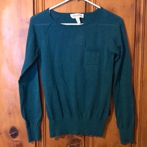 NWT Teal Sweater